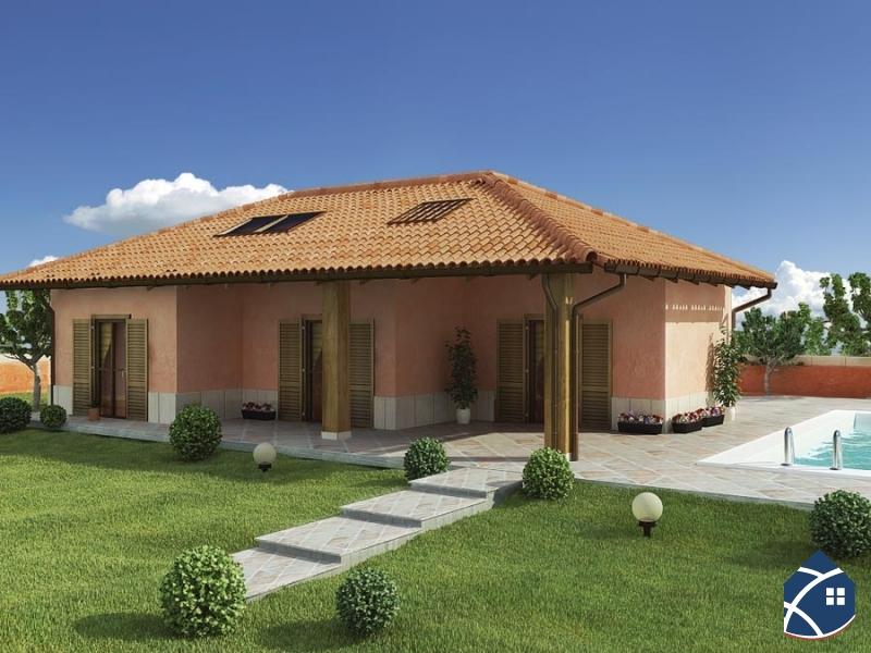 Terreno edificabile chisone immobiliare for Modelli di case italiane