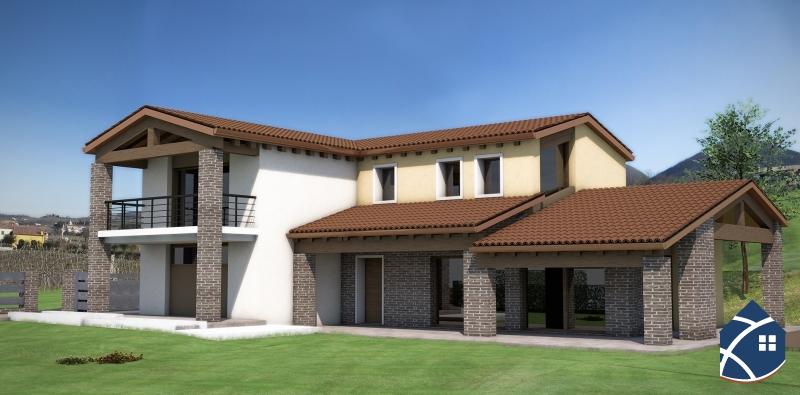 Terreno edificabile in zona comoda per costruzione villa for Prospetti ville moderne